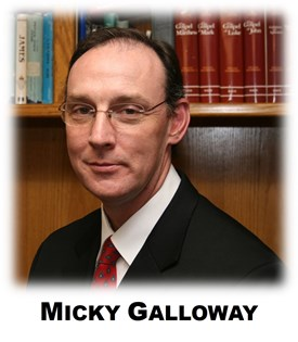 Photograph of Micky Galloway
